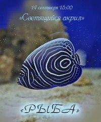 Афиша Ижевска — Занятие по светящемуся акрилу «Рыба»