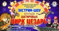 Афиша Ижевска — Экстрим-шоу «Цирк Цезарь»