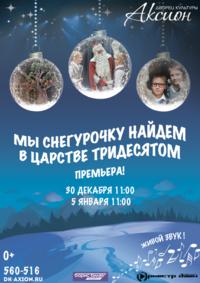 Афиша Ижевска — Новогоднее шоу «Мы снегурочку найдём в царстве тридесятом»