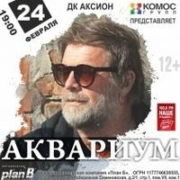 Афиша Ижевска — Концерт группы «Аквариум»