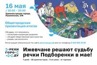 Афиша Ижевска — Презентация результатов воркшопа: Как вернуть Подборенку городу?