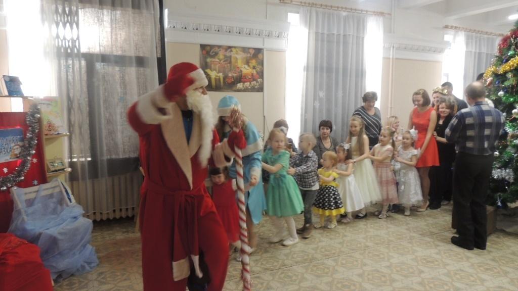 Новый год в библиотеке для детей и юношества