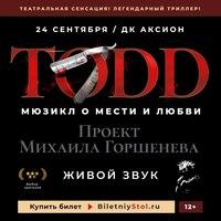 Афиша Ижевска — Рок-мюзикл «TODD»