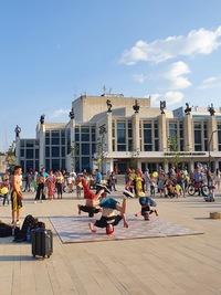 Афиша Ижевска — Уличный брейкинг на Центральной площади