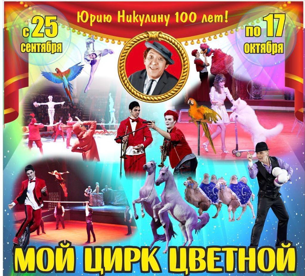 Афиша Ижевска — Проект «Мой цирк цветной»