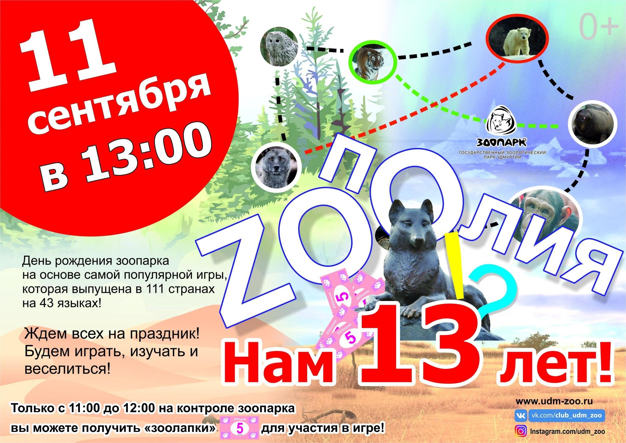 День рождения Зоопарка