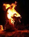 Волшебная сила огня, или Как из соломы и проволоки сделать искусство