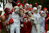 Белый клоун, красный клоун