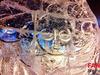 Ледяные скульптуры Ангелов продолжают появляться в Ижевске
