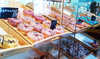 Открытие кофейни Seven Donuts