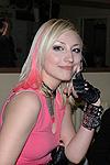 Блондинка Ксю в «Кристалле»
