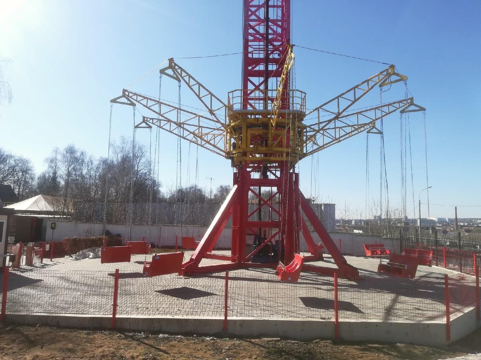 Парки Ижевска открыли сезон 2021
